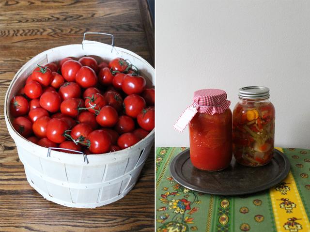 home canned tomatos ontario farm fresh