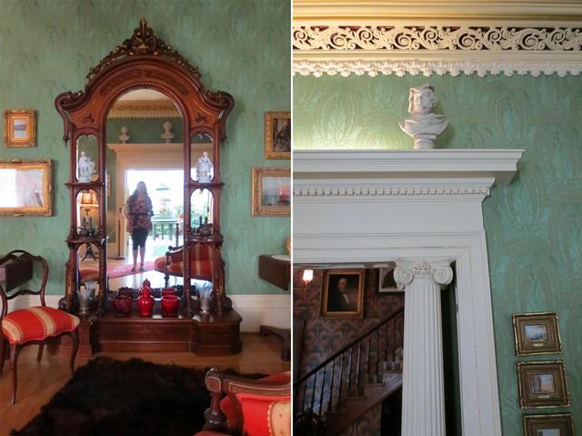 in the living room at spadina house museum toronto