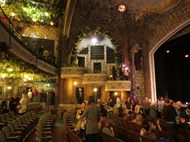 in winter garden theatre toronto after a show