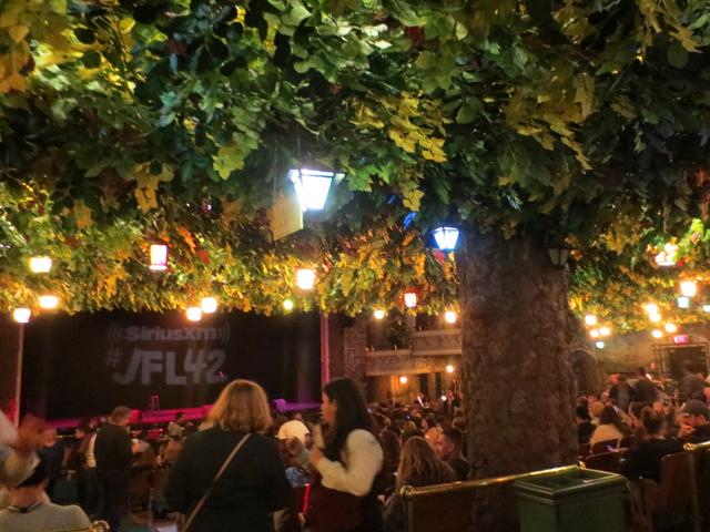 inside the winter garden theatre toronto looking toward stage