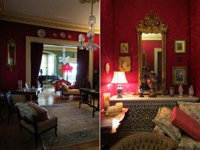 lounge spadina house museum