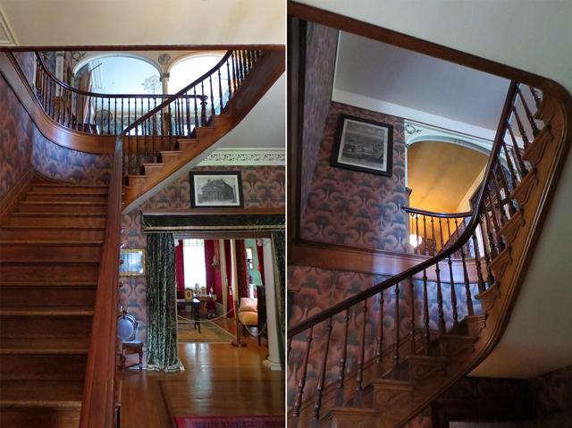 main staircase spadina house museum toronto