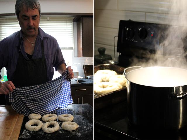 make bagels