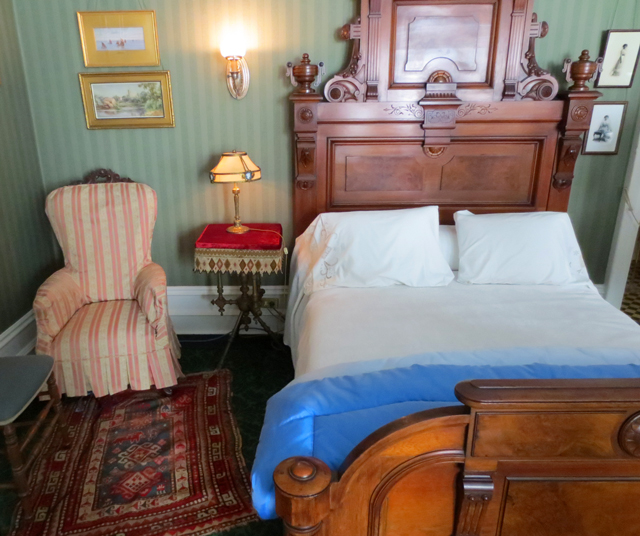 master bedroom at spadina house historic home museum toronto