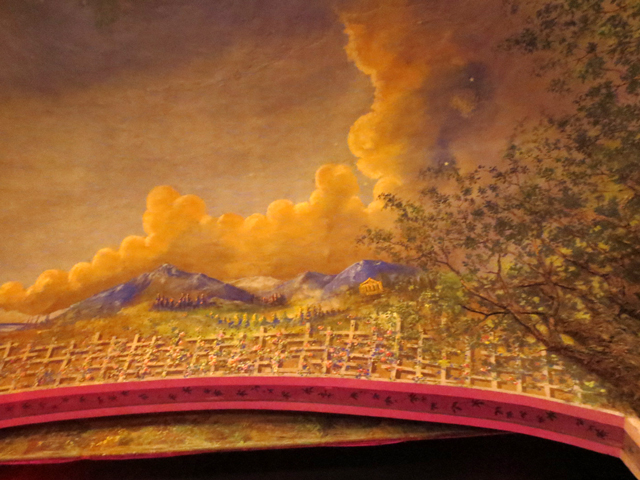painting above stage winter garden theatre toronto ontario