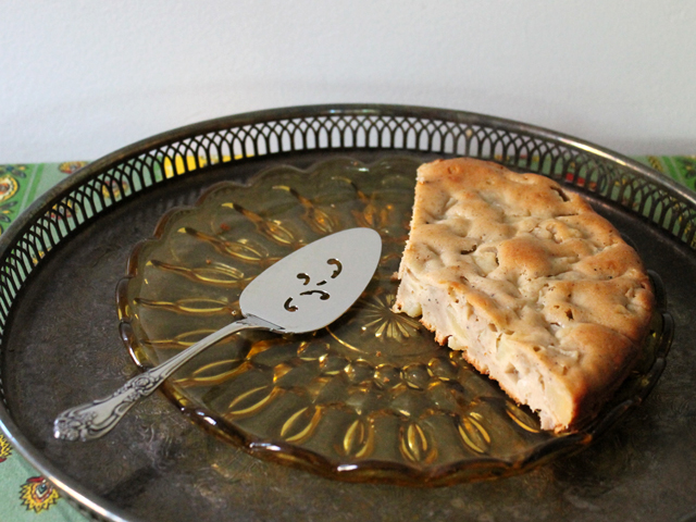 pear and cardamom cake recipe as healthy as cake can be
