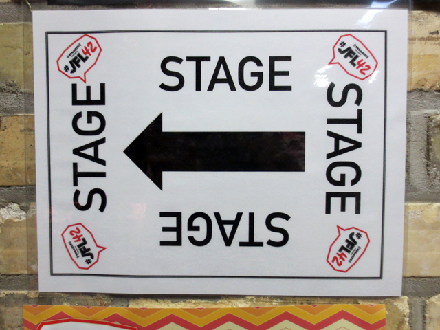 sirius xm canada live just for laughs 42 top comic finale at winter garden theatre toronto stage sign