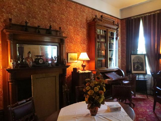 study radio room at spadina house historic home museum toronto