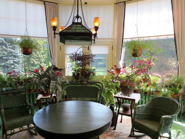 sunroom at spadina house historic home museum toronto