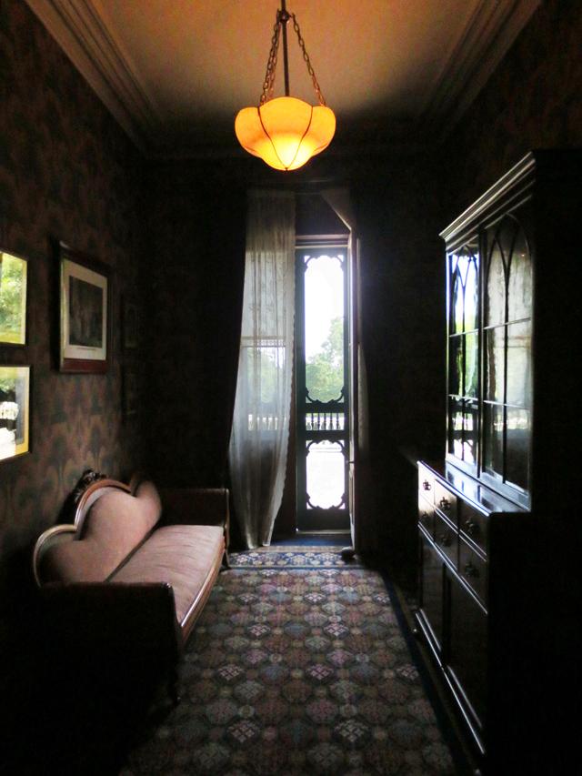 upstairs landing reading area spadina house toronto
