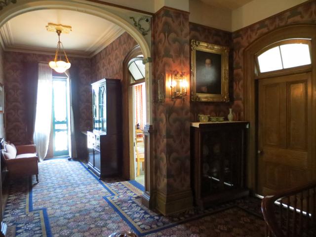 upstairs landing spadina house museum toronto