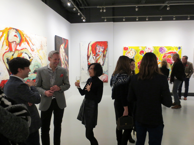 at c9 art gallery toronto sue tupy paintings awakening venus exhibition