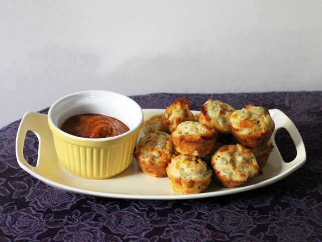 pizza mini muffin hors doeuvres appetizer party food vegetarian how to recipe