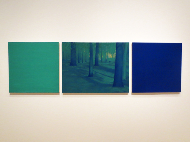 the pines by robert houle at ago toronto