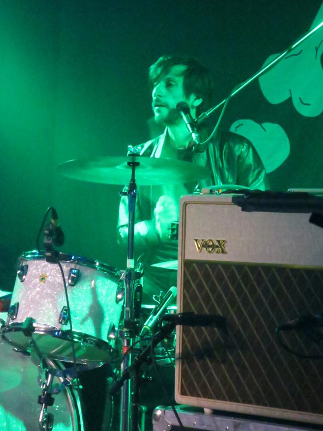 peter bjorn and john band guest drummer toronto show at velvet underground december twenty eighteen