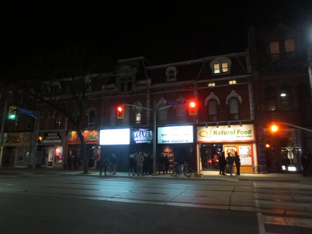 the velvet underground concert venue queen street west toronto