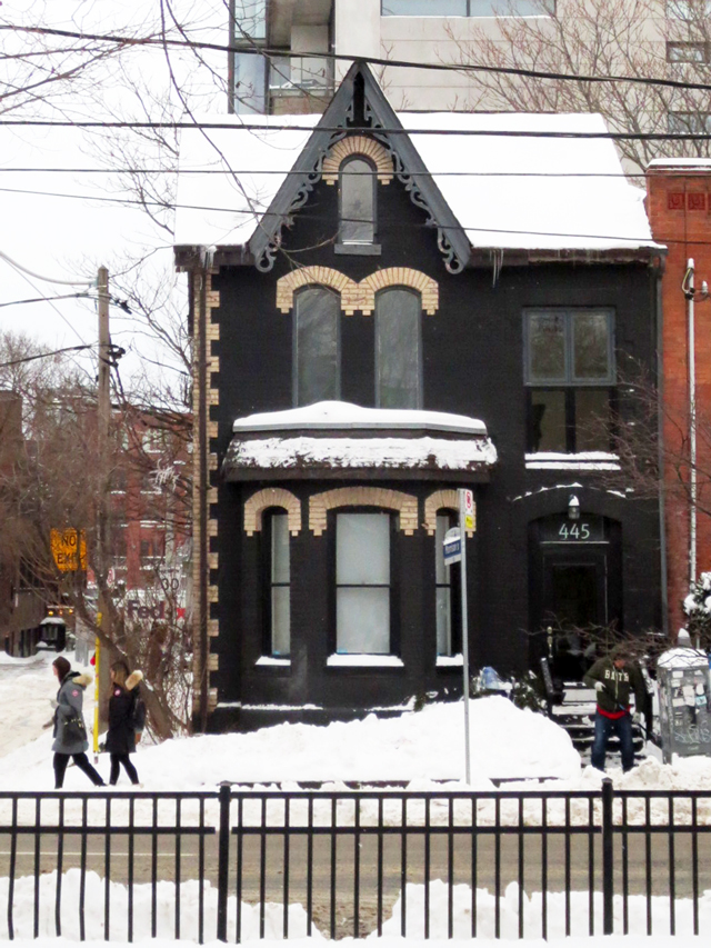 a favourite old house in toronto like ones lawren harris painted adelaide street west