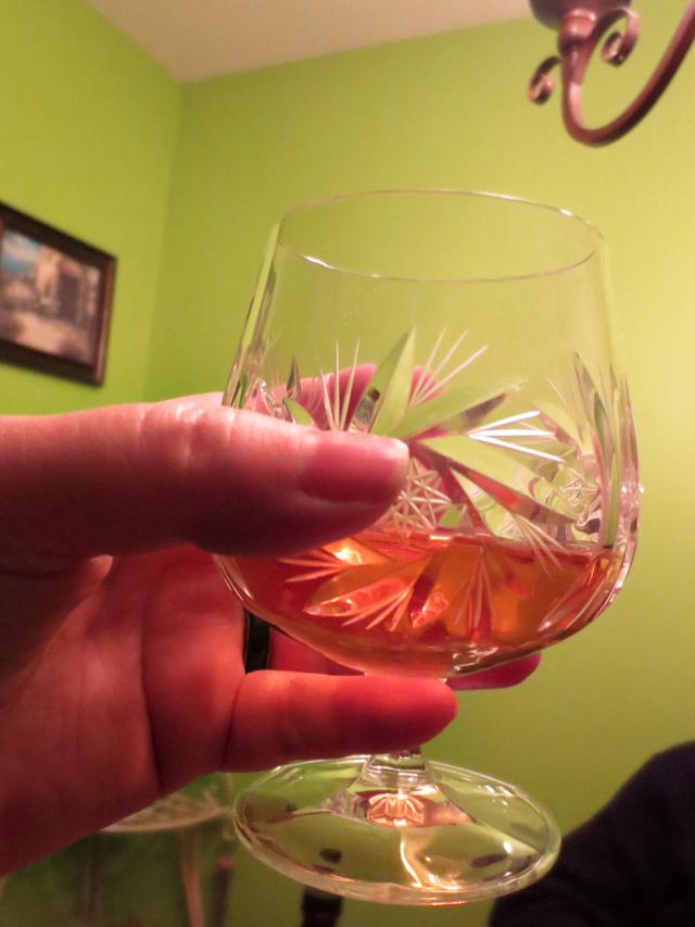 glass of ice wine