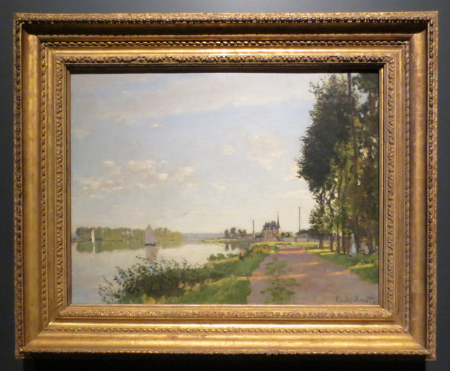 impressionism in the age of industry exhibition at ago toronto argenteuil by claude monet