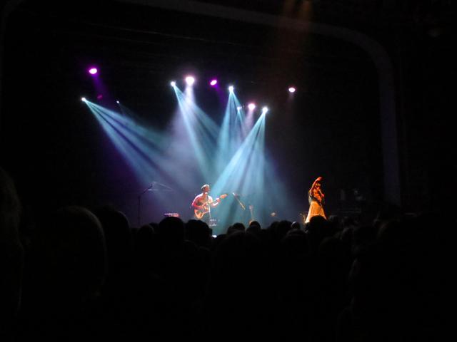 lauren ruth ward onstage in toronto at danforth music hall