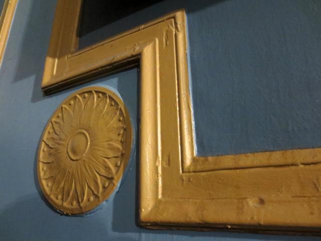 plaster details at historic danforth music hall toronto
