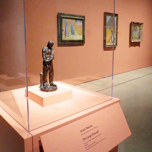 sculpture and paintings ago impressionism in the age of industry exhibition