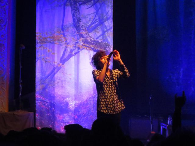 singer lp in toronto danforth music hall