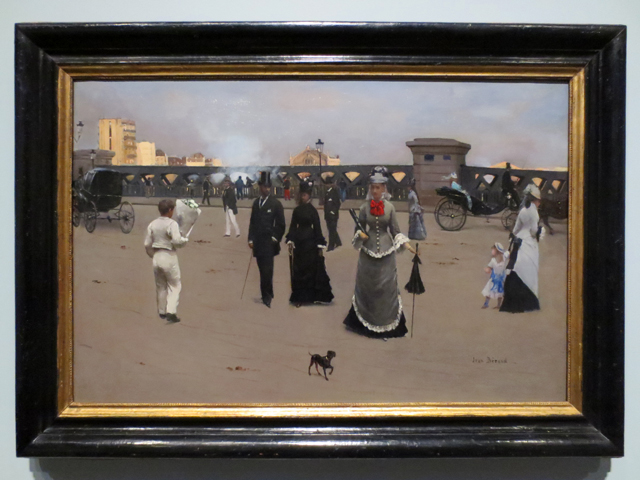 the place de l europe by jean bereaud date unknown on display at ago toronto impressionism in the age of industry exhibition
