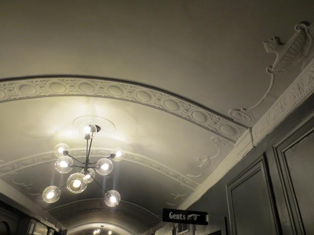 vintage details at the danforth music hall toronto