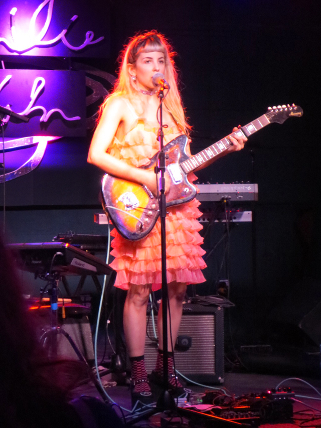 ada lea performing at the drake underground toronto opening for emilie kahn