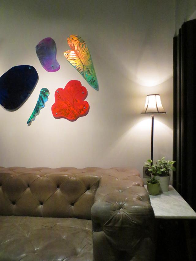 drake hotel toronto lobby plexiglass artwork by roxana azar