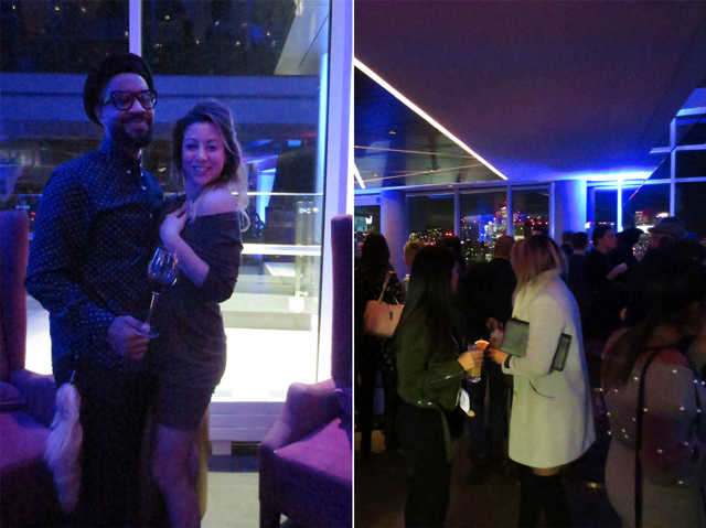 guests at launch party for x nights thursdays at hotel x toronto