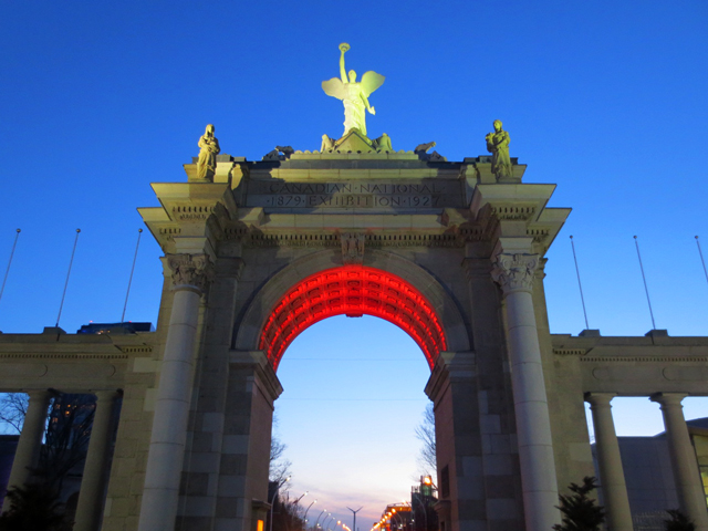 historic toronto princes gates cne canadian national exhibition