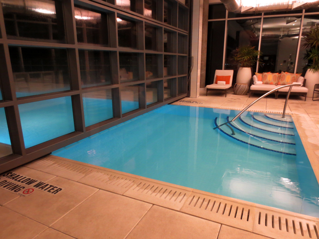 rooftop swimming pool at hotel x downtown toronto cne grounds