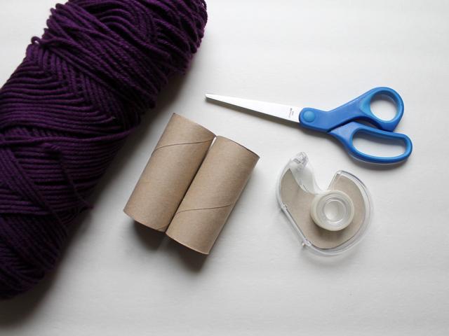 supplies to make diy pompoms