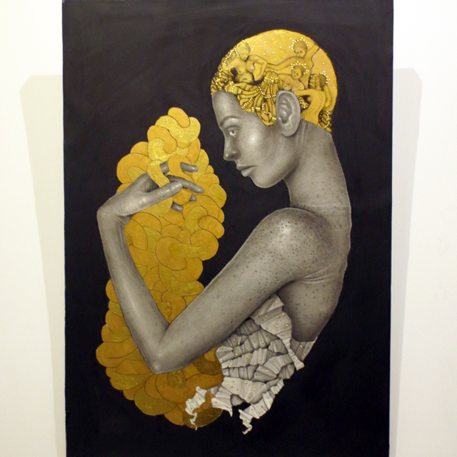 art by Dalia Elcharbini part of solo show at C9 gallery in toronto yorkville