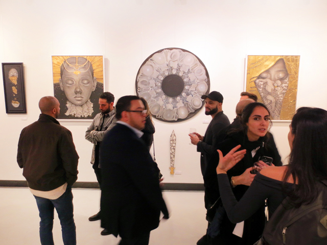 at gallery