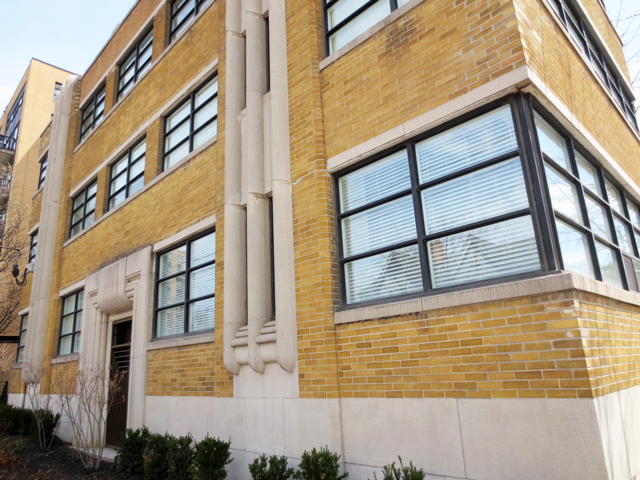 art deco building in toronto king street west former laboratory