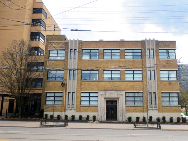 art deco building on king street west toronto historic incorporated into new build perfume factory lofts