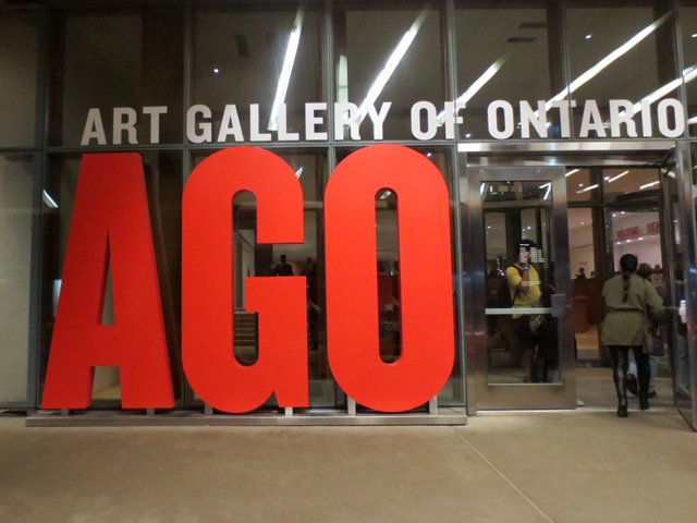 at the ago for the all hours party art gallery of ontario toronto