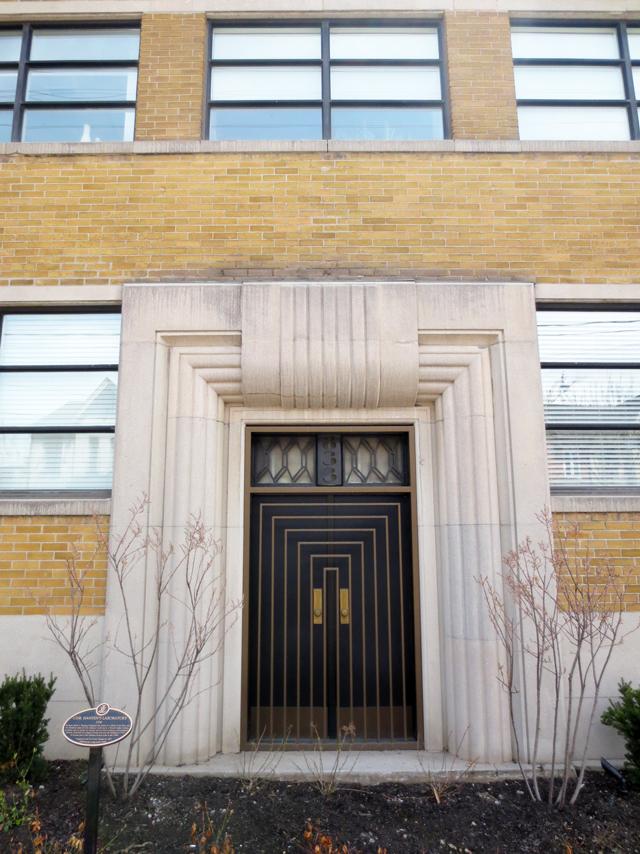 door historic building art deco style king street west toronto