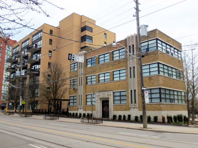 perfume factory lofts historic building incorporated into newer structure king street west toronto