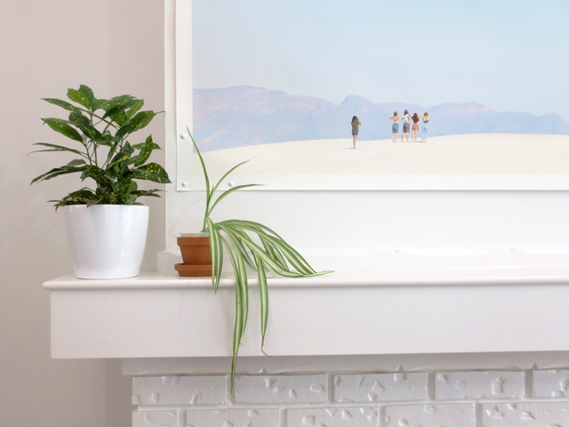 plants and print