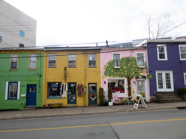 elsies used clothing vintage shop halifax nova scotia yellow building