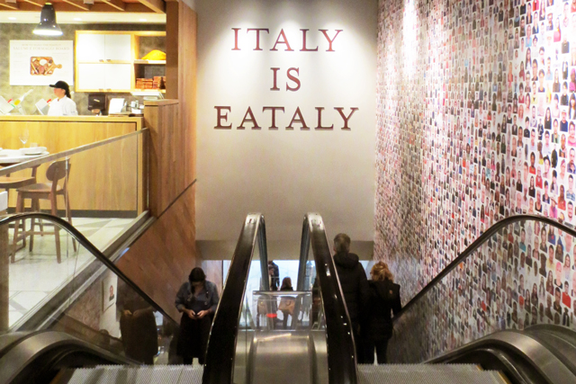 italy is eataly italian food marketplace in toronto on bloor street across from holt renfrew