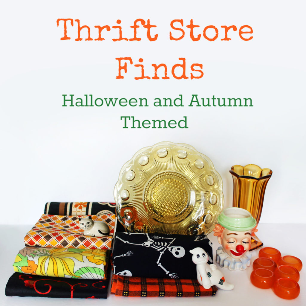thrift store finds toronto canada value village halloween autumn themed 1024x1024