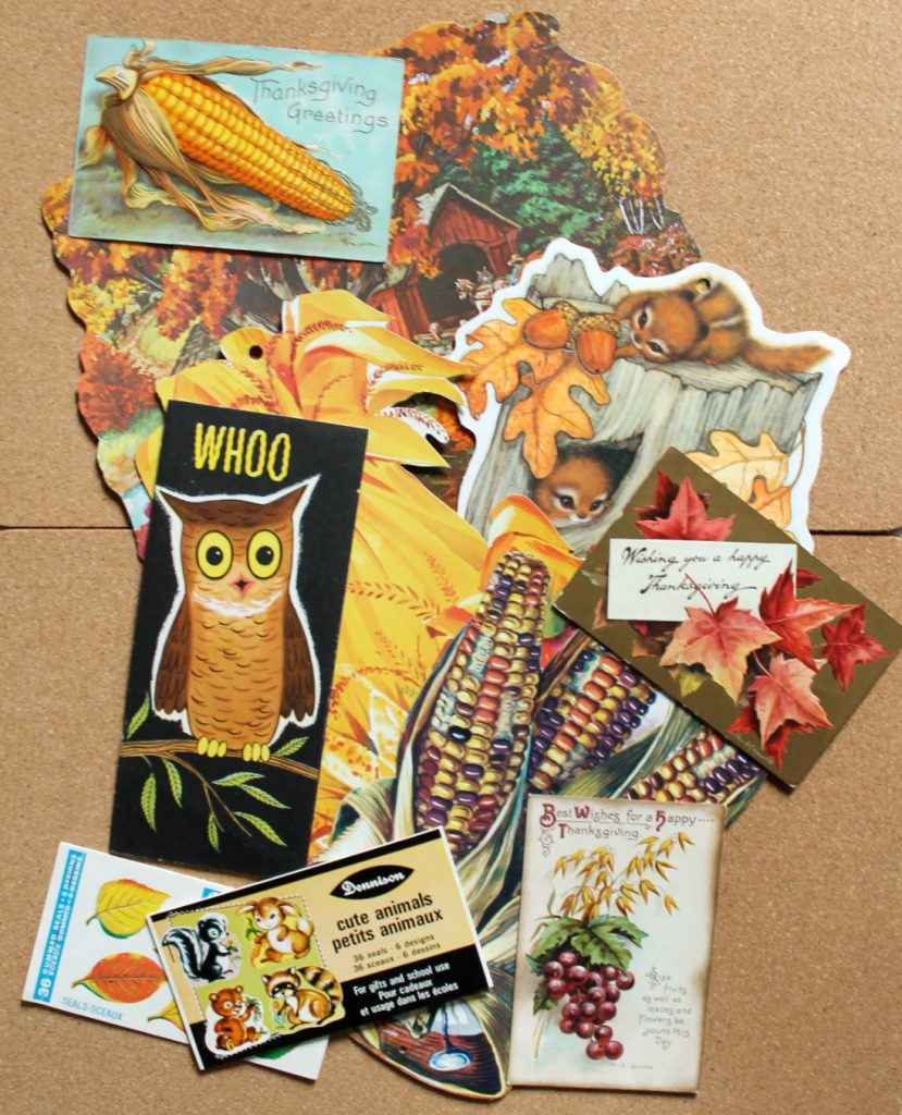 vintage and antique paper collection autumn fall 829x1024