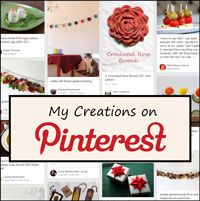 my creations on pinterest
